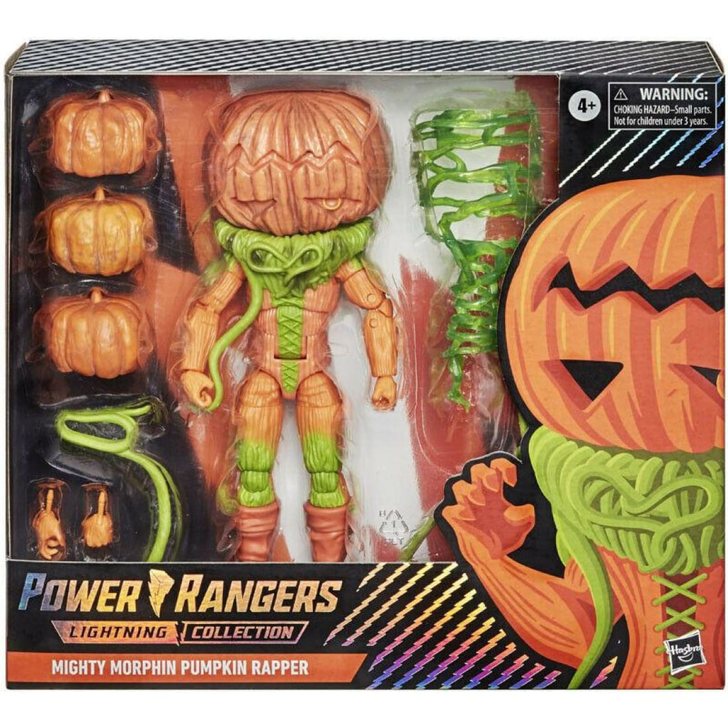 Power Rangers Lightning Collection - Mighty Morphin Pumpkin Rapper Action Figure
