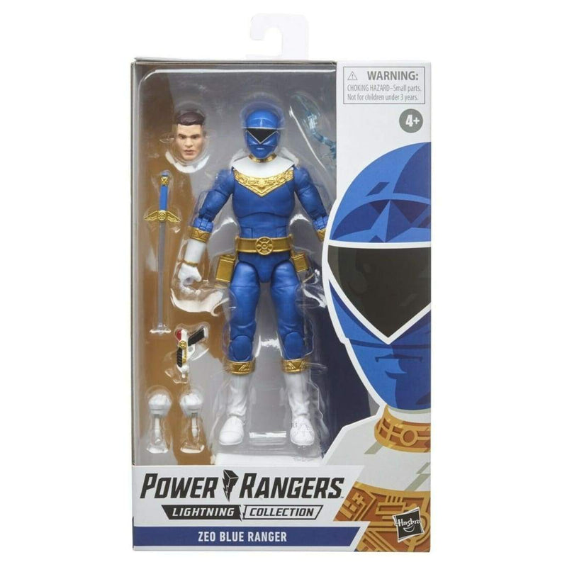 Power Rangers Lightning Collection - Zeo Blue Ranger Action Figure - Toys & Games:Action Figures:TV Movies & Video Games