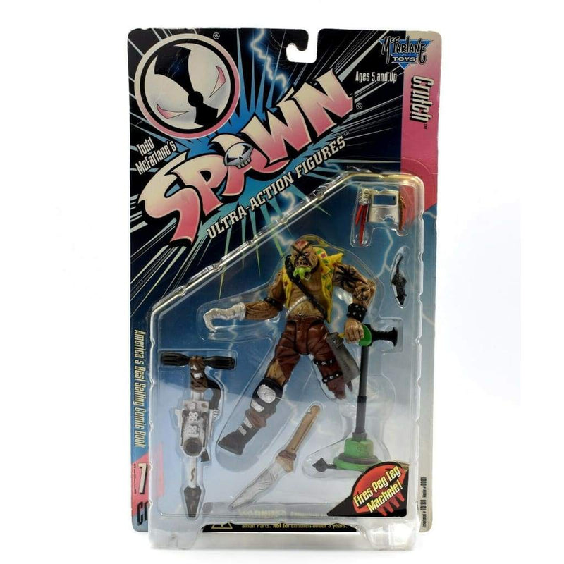 McFarlane Toys - Spawn Series 7 - Clutch (Yellow Shirt) Ultra Action Figure - Toys & Games:Action Figures:TV Movies & Video Games
