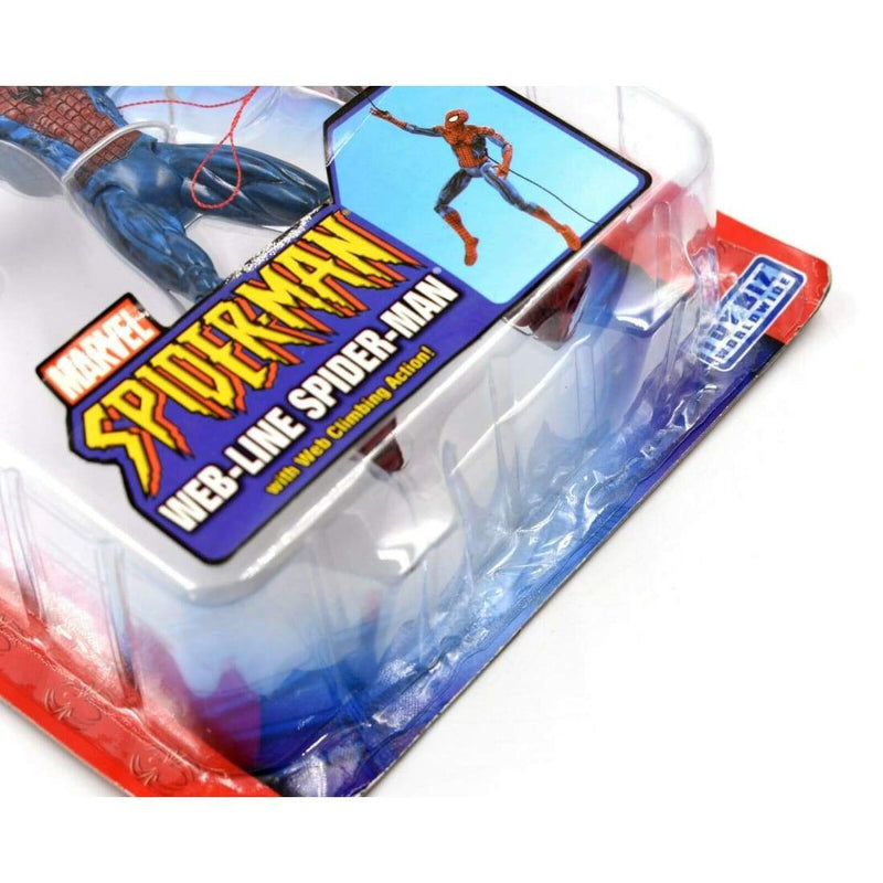 ToyBiz - Spider-Man Classics - Web-Line Spider-Man Action Figure - Toys & Games:Action Figures:TV Movies & Video Games