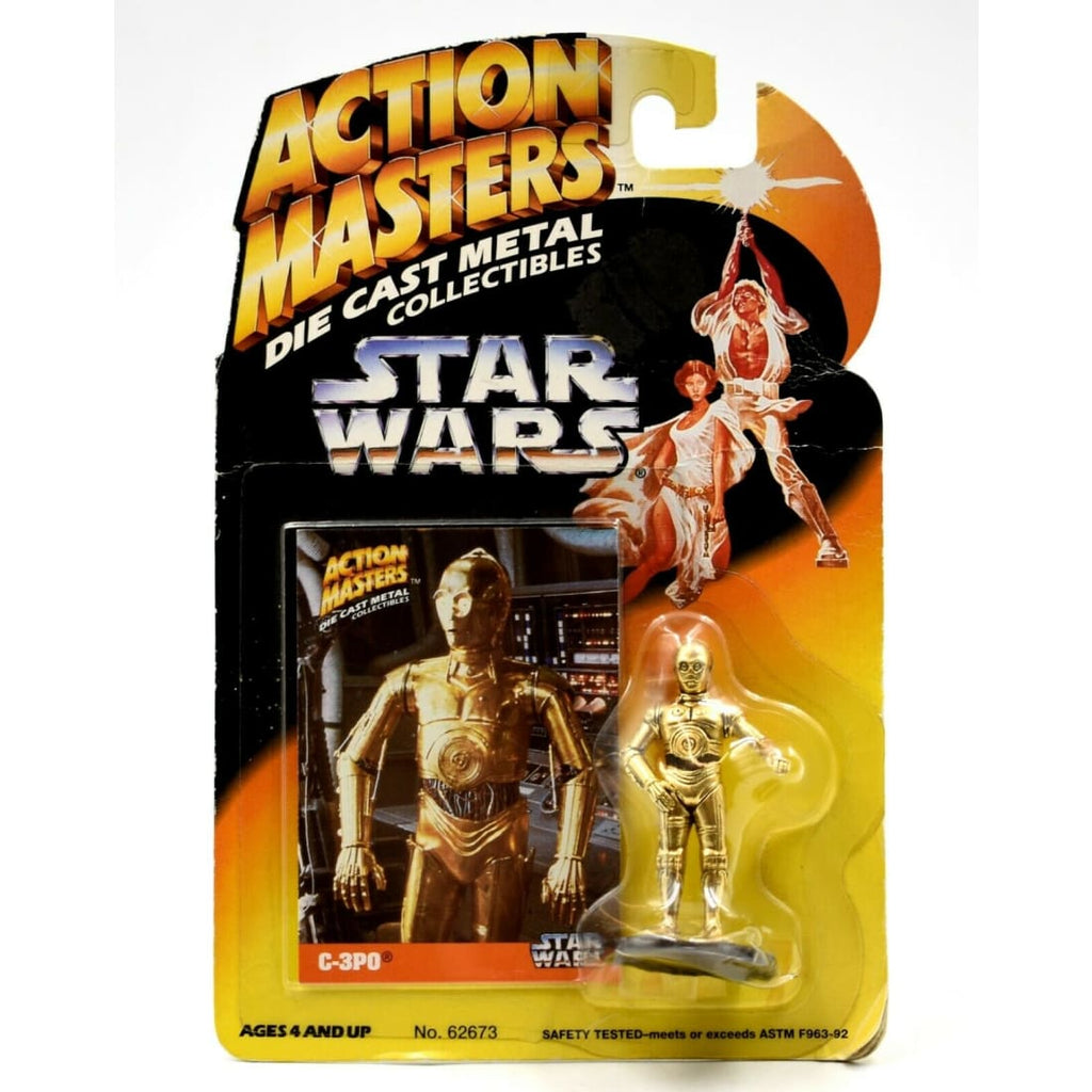 Star Wars Action Masters Die Cast Metal Collectibles - C-3PO Figurine