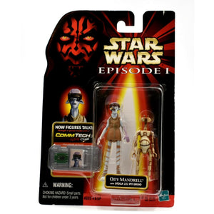 Star Wars Episode 1 - Ody Mandrell with Otoga 222 Pit Droid Action Figure