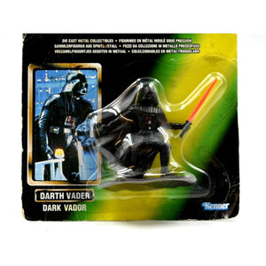 Star Wars Power of The Force Die Cast Metal Collectibles - Darth Vader Figurine - Toys & Games:Action Figures:TV Movies & Video Games