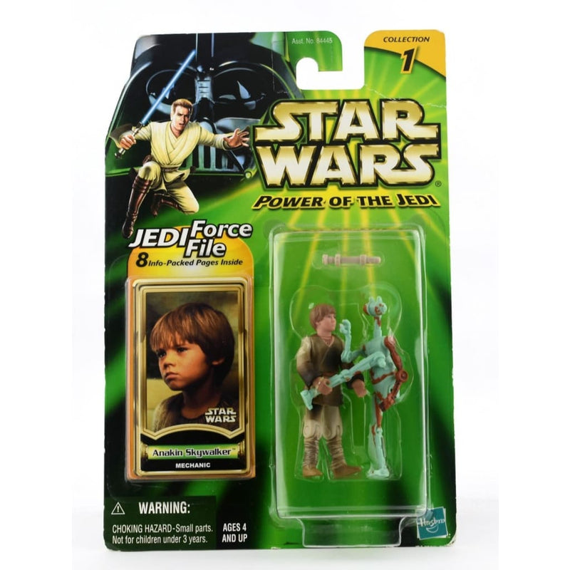 Star Wars Power Of The Jedi - Anakin Skywalker (Mechanic) Action Figure
