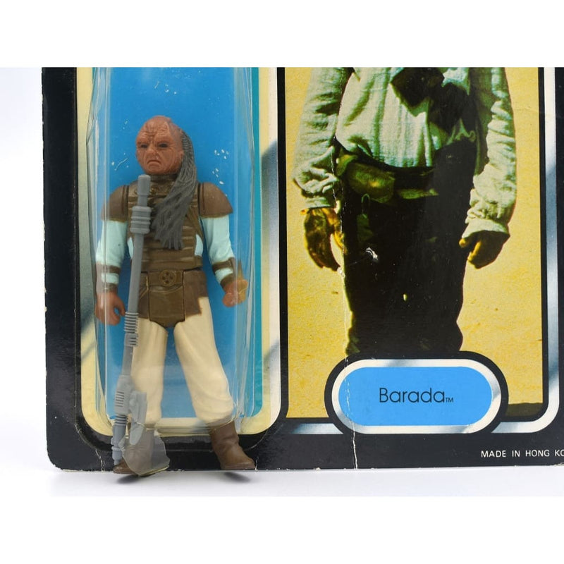 Star Wars Return Of The Jedi Tri-Logo (1983) - Barada / Weequay Action Figure - Error Miscard