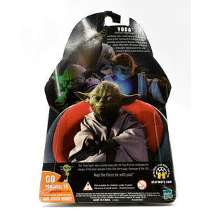 Star Wars Revenge of the Sith - Holographic Yoda Exclusive Action Figure - Toys & Games:Action Figures:TV Movies & Video Games