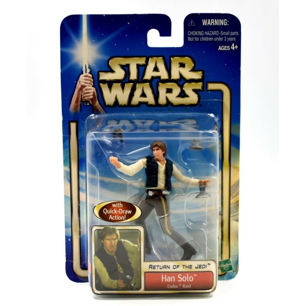 Star Wars Saga Return of The Jedi - Han Solo (Endor Raid) Action Figure