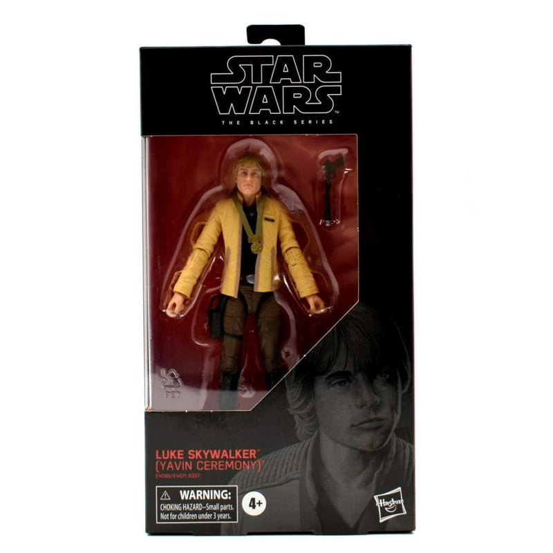 Star Wars The Black Series - #100 Luke Skywalker (Yavin Ceremony) Action Figure - Toys & Games:Action Figures:TV Movies & Video Games