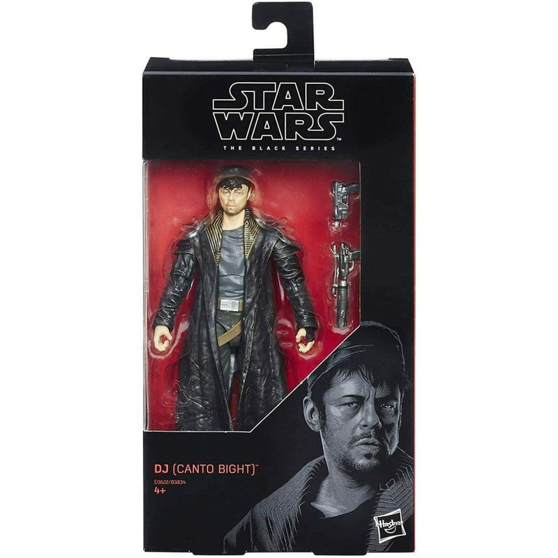 Star Wars The Black Series - #57 DJ (Canto Bight) Action Figure - Toys & Games:Action Figures:TV Movies & Video Games