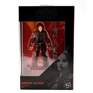 Star Wars The Black Series Rogue One - Sergeant Jyn Erso 3.75 Action Figure - Toys & Games:Action Figures:TV Movies & Video Games