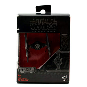 Star Wars The Black Series Titanium Series - First Order Tie Fighter - Toys & Games:Action Figures:TV Movies & Video Games