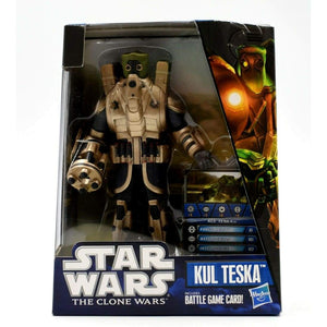 Star Wars The Clone Wars - Kul Teska Action Figure - Toys & Games:Action Figures:TV Movies & Video Games