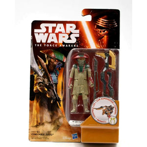 Star Wars The Force Awakens - Constable Zuvio Action Figure - Toys & Games:Action Figures:TV Movies & Video Games