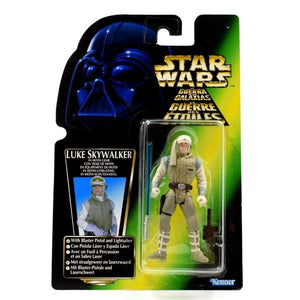 Star Wars Power of The Force (Euro) - Luke Skywalker in Hoth Gear Action Figure - Toys & Games:Action Figures:TV Movies & Video Games