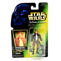 Star Wars The Power of The Force (Foil) - Bespin Han Solo Action Figure - Toys & Games:Action Figures:TV Movies & Video Games