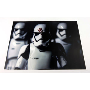 Star Wars Toy Art - Stormtrooper Fin Framed Print