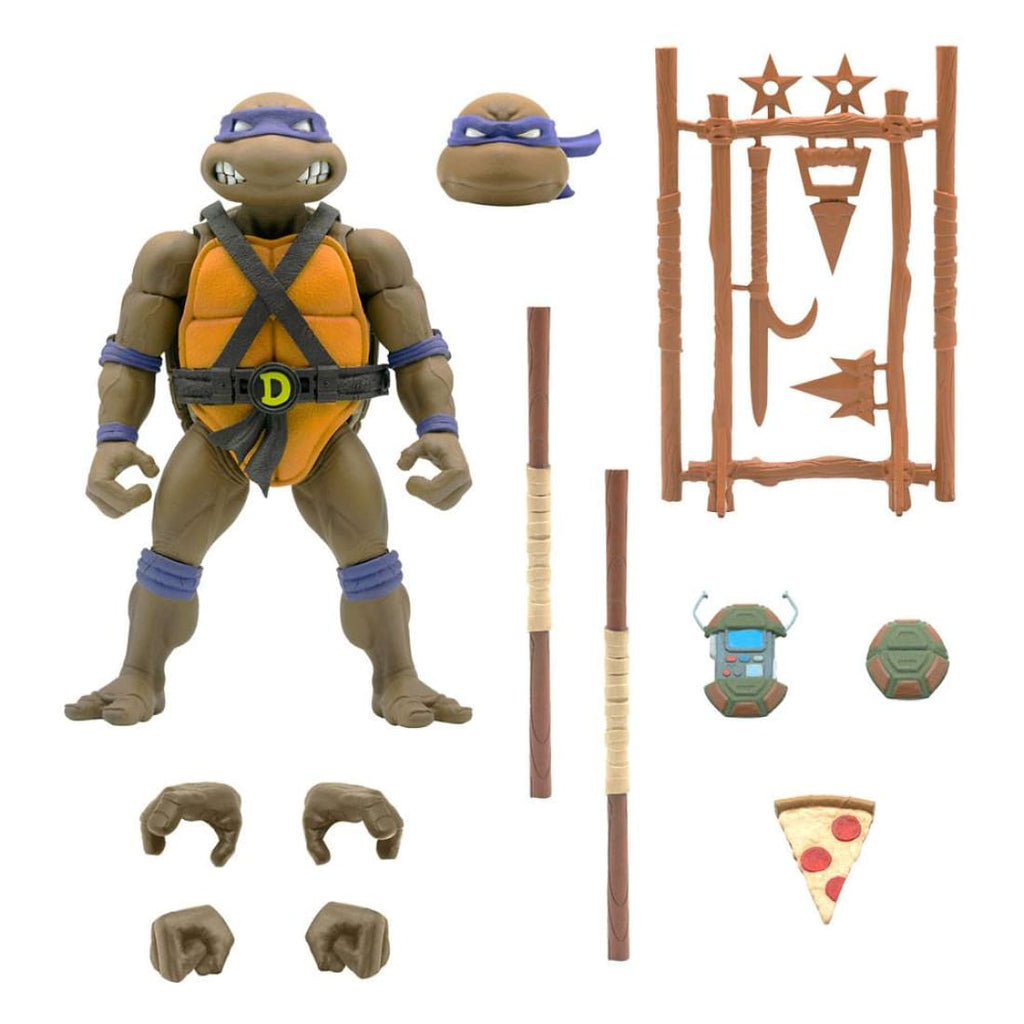 Super7 - Teenage Mutant Ninja Turtles Ultimates - Donatello Action Figure - PRE-ORDER