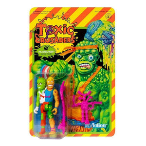 Super7 Toxic Crusaders Wave 1 - Headbanger ReAction Action Figure PRE-ORDER - Toys & Games:Action Figures:TV Movies & Video Games