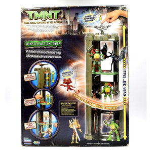 Teenage Mutant Ninja Turtles TMNT Movie - Monster Action Tower Figure Playset - Toys & Games:Action Figures:TV Movies & Video Games
