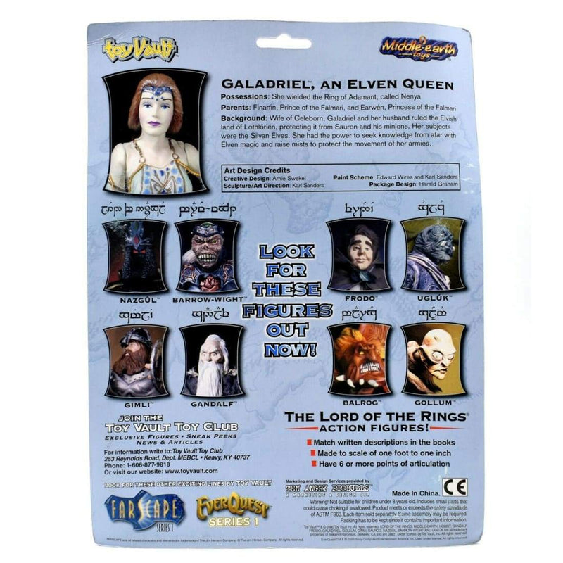 The Lord of The Rings - Galadriel The Elven Queen Action Figure - Toys & Games:Action Figures:TV Movies & Video Games