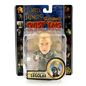 The Lord of the Rings Motorized Twist Ems - Arrow Drawing Legolas Action Figure - Toys & Games:Action Figures:TV Movies & Video Games
