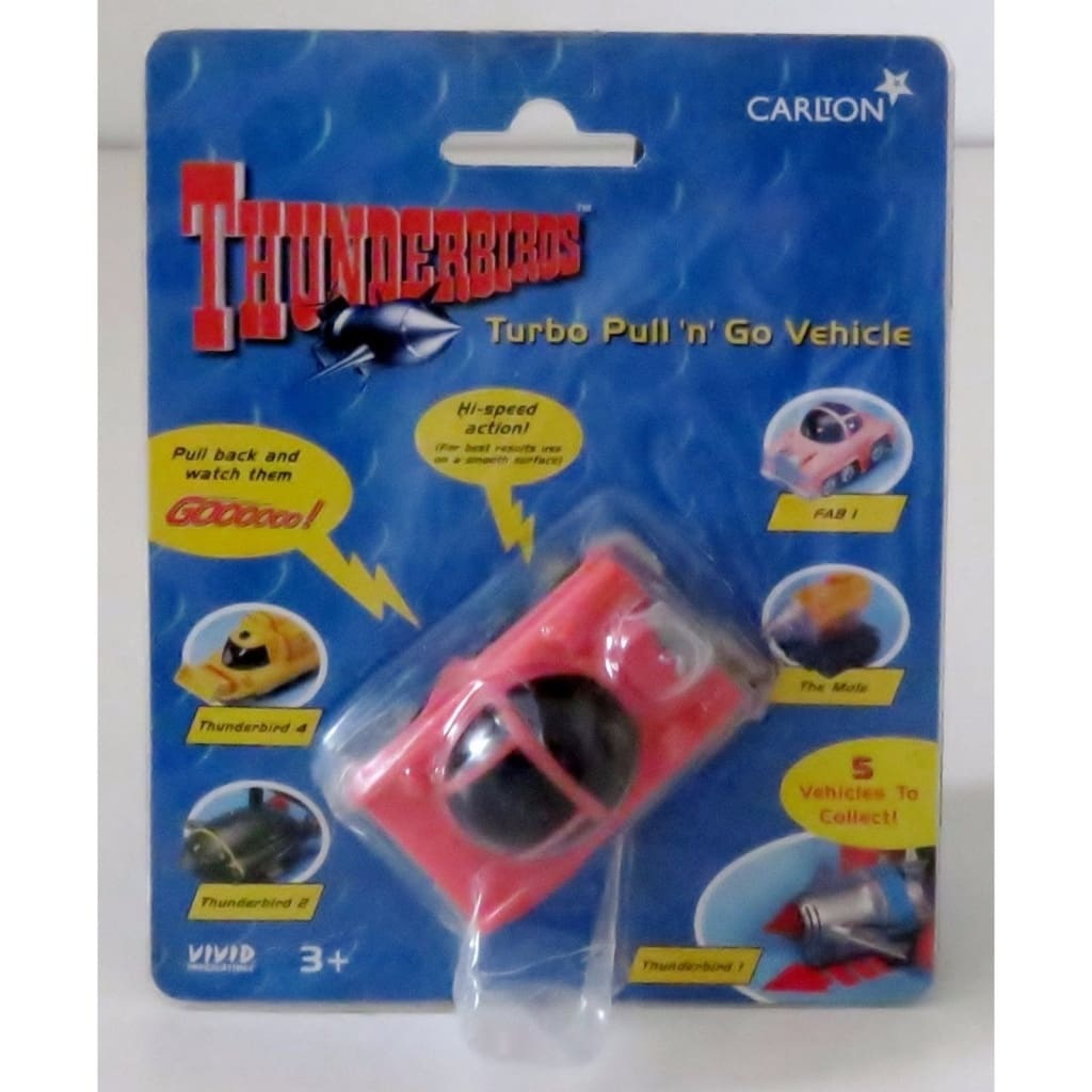 Thunderbirds - Fab 1 - Turbo Pull N Go Vehicle