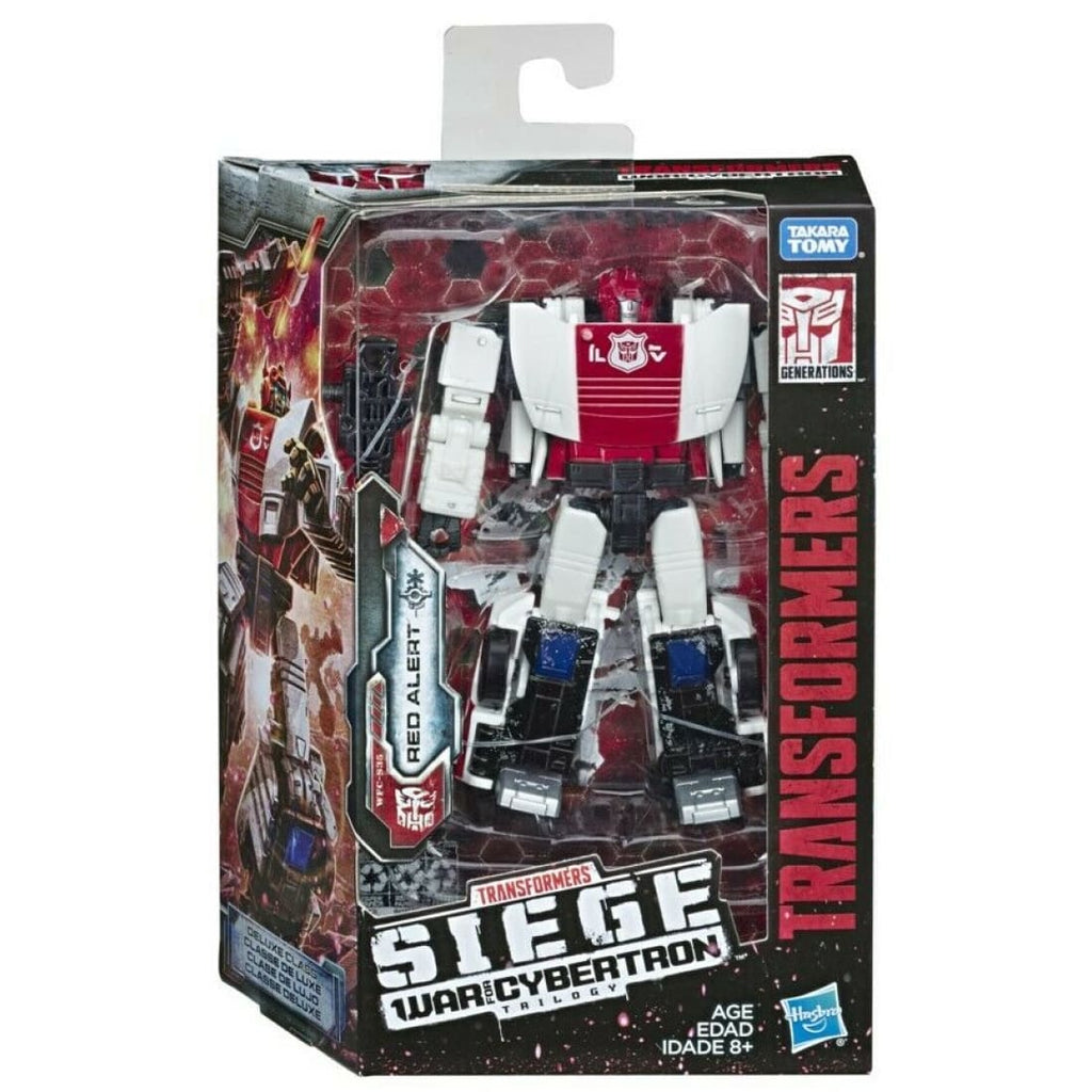 Transformers Siege War for Cybertron - WFC-S35 Autobot Red Alert Action Figure