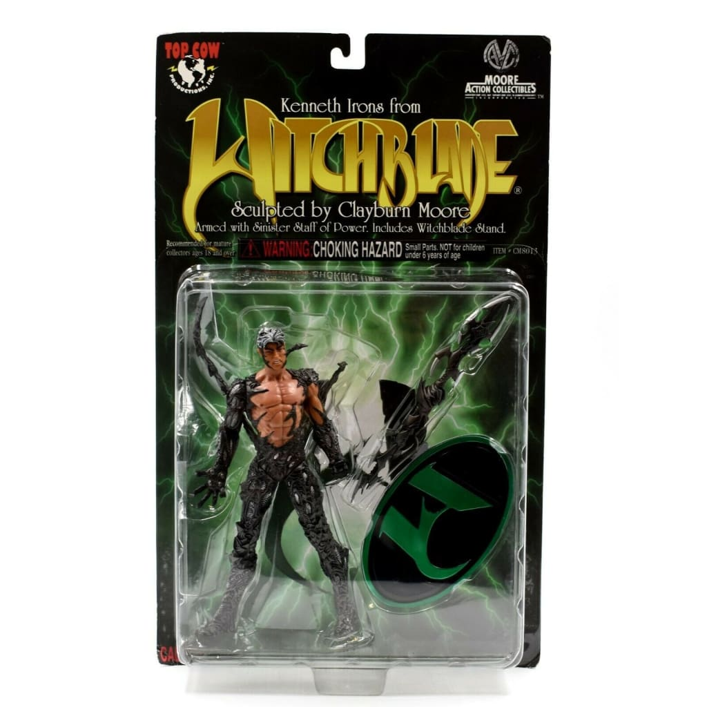 Witchblade Series 1 - Kenneth Irons Action Figure