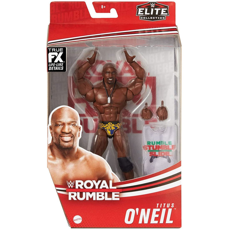 WWE Elite Collection Royal Rumble - Titus O'Neil Action Figure - PRE-ORDER