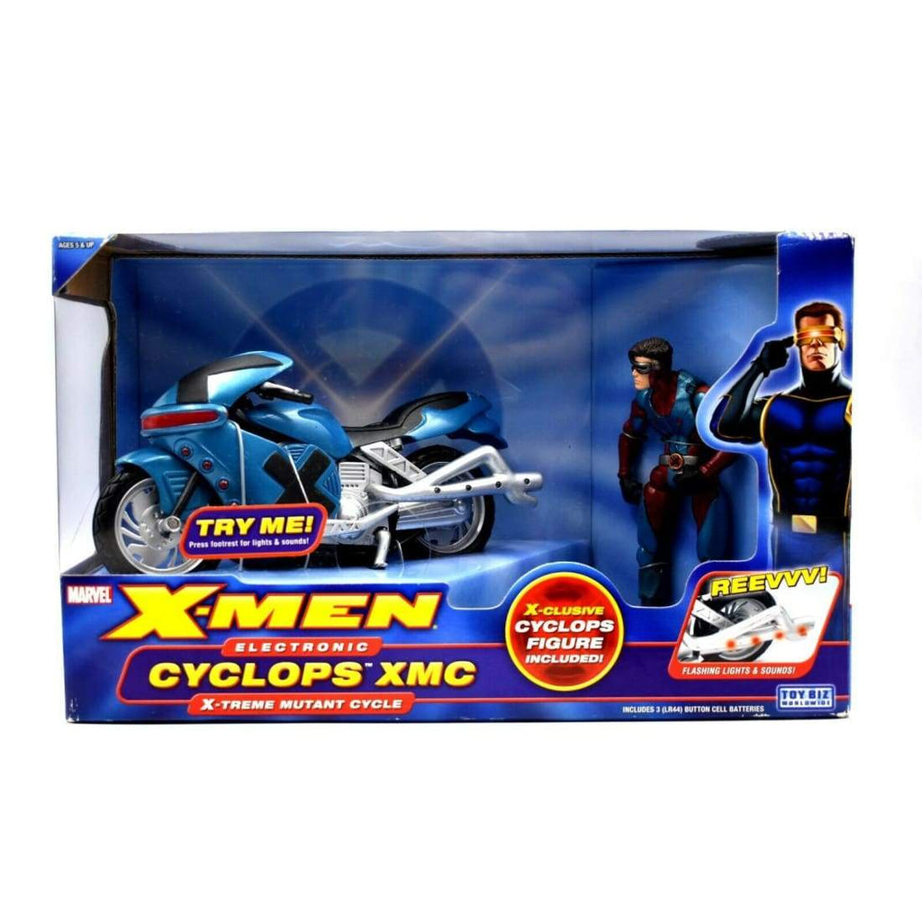 X-Men Classics - Electronic Cyclops XMC X-Treme Mutant Cycle & Action Figure Set - Toys & Games:Action Figures:TV Movies & Video Games