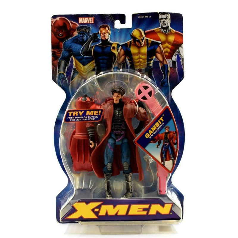 ToyBiz - X-Men Classics - Gambit with Disk Shooter Action Figure - Toys & Games:Action Figures:TV Movies & Video Games