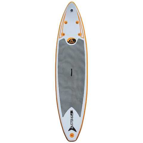 FishBone Stand Up Inflatable Paddleboard (SUP) w/ Pump
