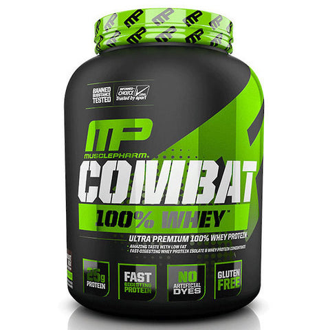 MusclePharm Protein Whey Combat Powder