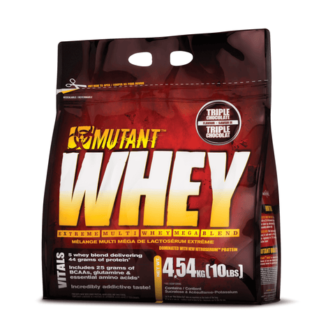 Mutant Whey, 5 Whey Blend With Extra Glutamine