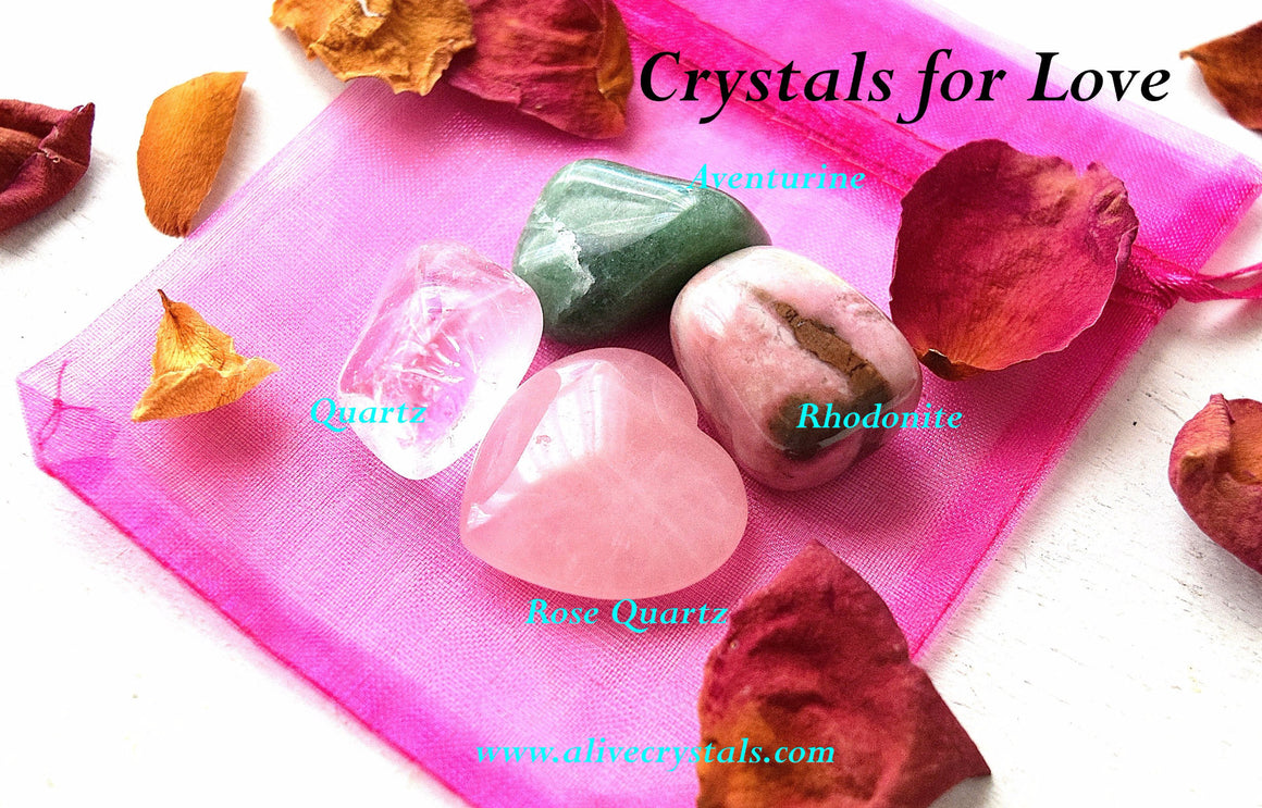 Healing Crystals for Love, Happiness and Protection