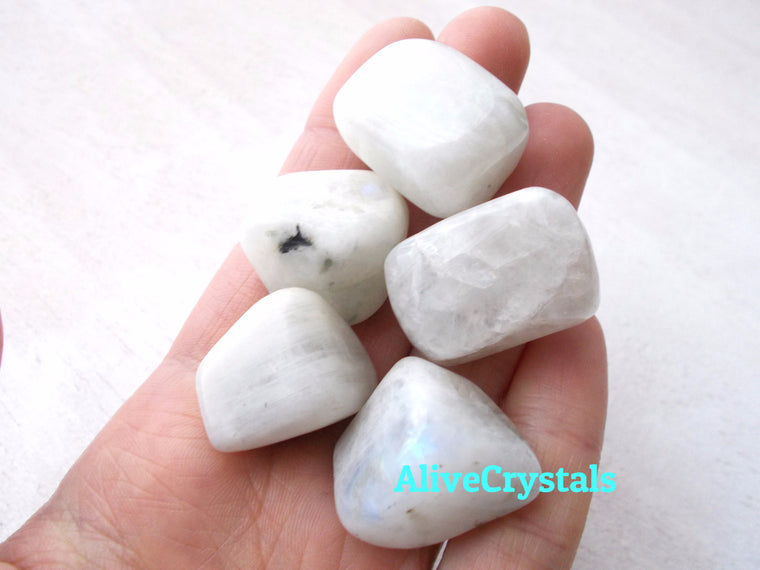 Moonstone Stone, Healing Crystals for Fertility and Pregnancy, Intuition, Infertility, PCOS, New Beginnings, Dream Recall