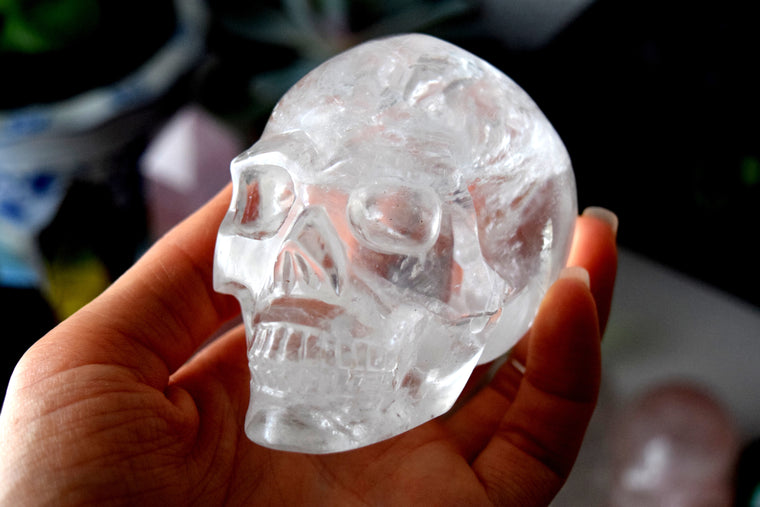 Quartz Crystal Skull for Sale