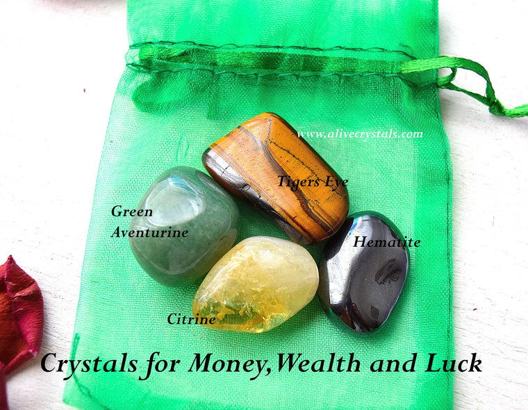Gemstones for Money, Luck, Powerful Crystals for Wealth, Prosperity, Abundance, Positive Energy