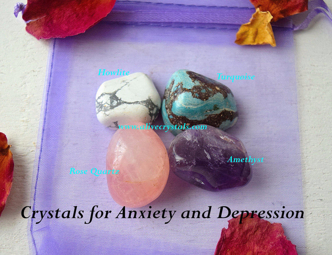 Healing Stones for depression and Stress