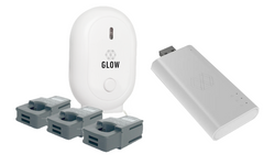 Glow solar monitoring set