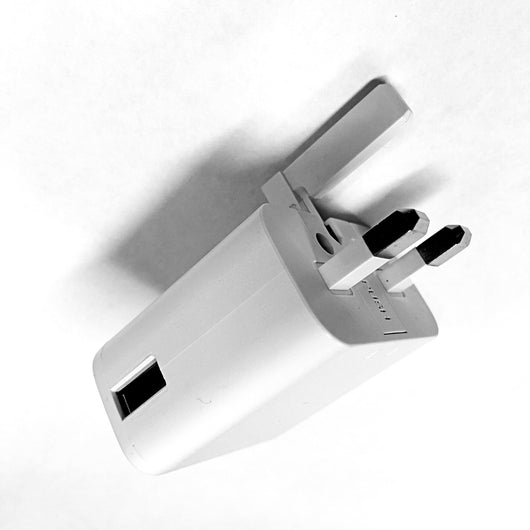 USB Plug Power Adapter (UK)