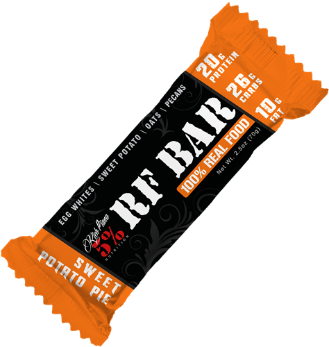 Rich Piana 5% Nutrition RF Bar - Sweet Potato Pie