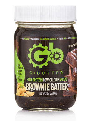 G Butter Brownie Batter Nut Butter Available in Canada