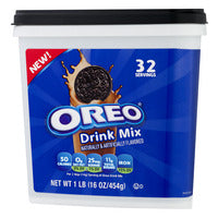 New! Oreo Drink Mix - 16oz SALE !