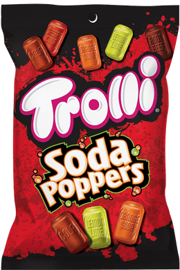 New!  Trolli Soda Poppers 5oz