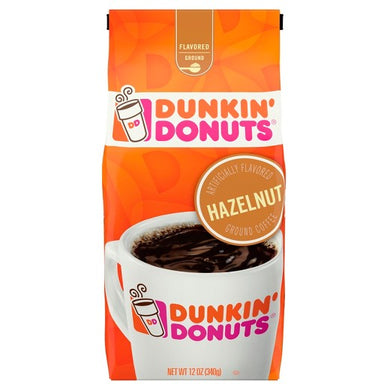 Dunkin' Donuts  Hazelnut Ground Coffee  12oz