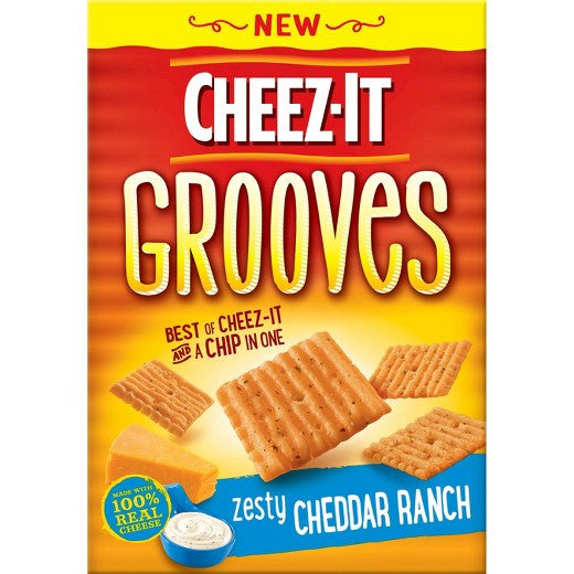 Cheez It Grooves - Zesty Cheddar Ranch 9 oz