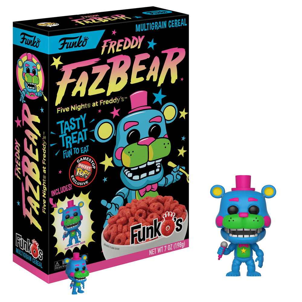 New! Freddy FaZbear - Includes funko Pocket Pop!