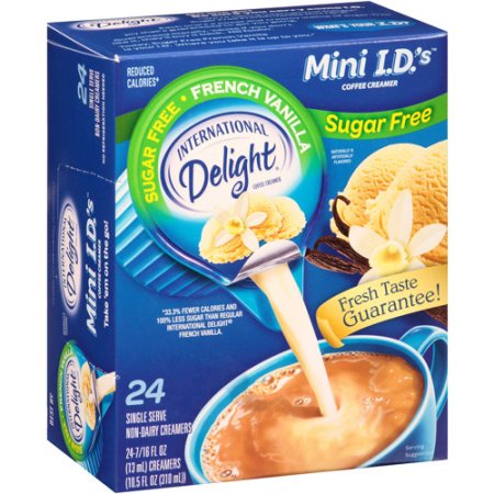 International Delight Sugar Free French Vanilla Coffee Creamer 24ct