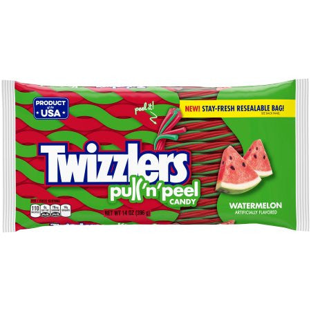 Twizzlers Pull N Peel Watermelon - 14oz
